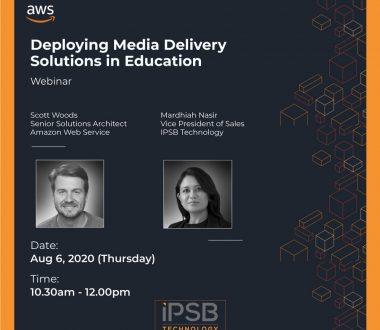 AWS Education Insights Webinar featuring Mardhiah Nasir