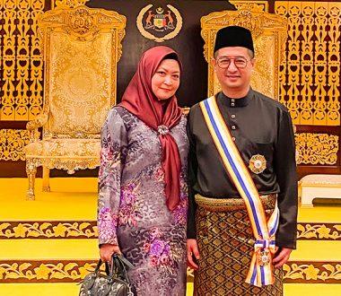 News: Pengarah Urusan IPSB Technology, Nasir Baki Terima Penganugerahan Darjah Kebesaran Negeri Melaka